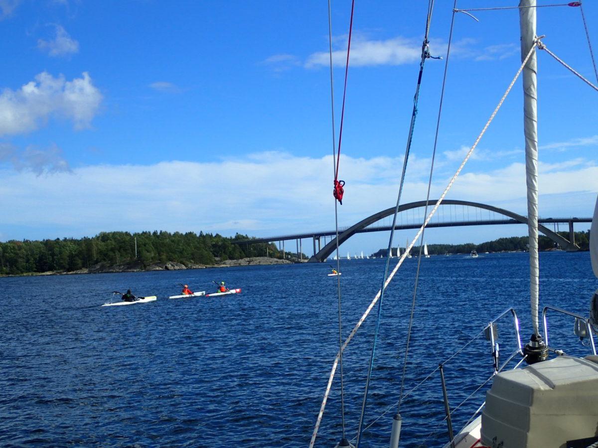 Reached my home port Bullandö Marina